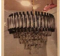 Lustre Décoratif Dore Noir Rond Dia 400 x h300mm/L6 Ampoule