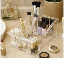 Rangement de Maquillage Grand Modèle en Acrylique