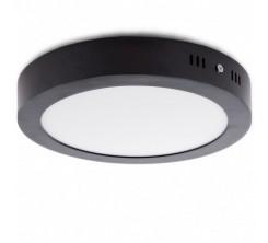 Panel Encastre noire LED Rond 30W SMD 6500K