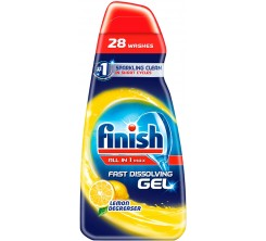 Finish all in 1 Max Power Gel Lemon