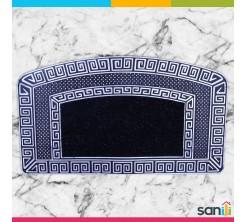 Tapis de Porte Carré Noir