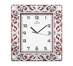Horloge Murale Décorative Carrée Gris