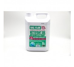 Nettoyant Sol Désinfectant Antibactérien Multi Usage 5L Fraîcheur de Mer
