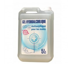 Gel Hydroalcoolique Antiseptique pour Les mains 5L