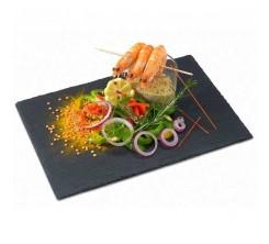 Assiette Ardoise rectangle 40 X 30 cm
