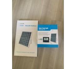 Projecteur Solaire Professionnel 250w 6500k ip67 Avec Télécommande