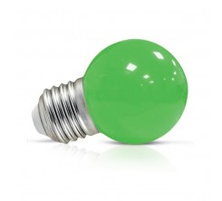 Lampe G45 led  1w e27 rouge