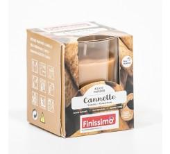 Bougie Parfumée Cannelle pot en verre