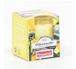 Bougie parfumee citronnelle pot en verre