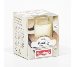 Bougie Parfumée vanille pot en verre