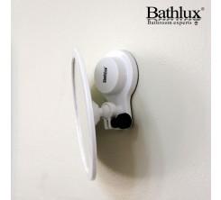 Miroir Rond en Plastique avec Ventouse BATHLUX