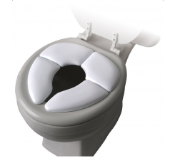 Siège pour Toilette Pliant Rembourré