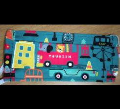 Masque De Protection Pour Enfant Motif Bus Tourism