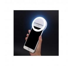 Support de Lumière Led pour selfie 3 Niveau Rond