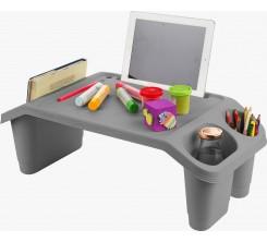 Table Multi-usage Enfants et Adultes GRIS NOIR