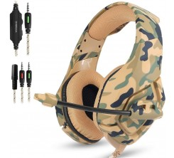 KOTION EACH PRO GAMING HEADSET JACK CABLE MILITAIRE