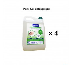 Pack 4 Gel Main Antiseptique 5L