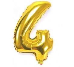 Ballon Gonflable Forme Chiffre 4