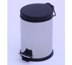 Poubelle à pédale avec couvercle en plastique 3L