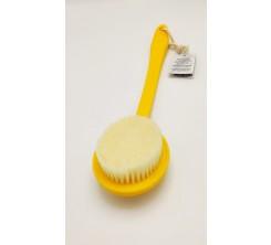 Brosse lave-dos jaune