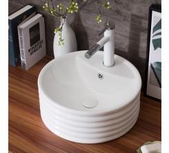 Vasque à Poser Décoratif 43x43x17cm TIVOLI