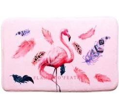 Tapis SDB Flamingo 45x75cm