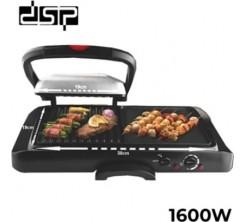 Grill DSP KB1050 Presse barbecue électrique 2 en 1