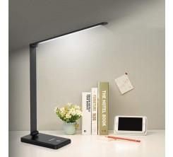 Lampe de Bureau Led 9w 6500k Ferri Noire