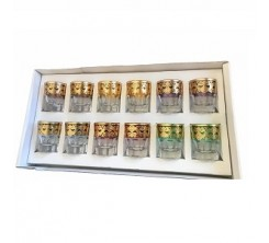 Pack de 12 Verres à Café Beledi Premium