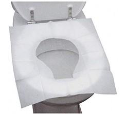 Housse de Siege de Toilette Jetable 10 pièces