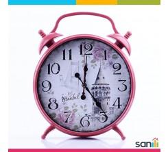 Horloge Sur Pieds Masa Saati Rouge