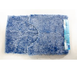 Tapis Salle de Bain 2 Pièce Bleu 50x80cm Sanili