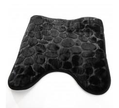 Tapis 45x45 cm Noir Série TRENDY