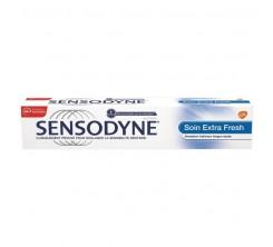 Dentifrice Soin Extra Fresh, Protection 24h contre la Sensibilité Dentaire, 75 ml Sensodyne