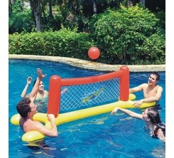 SET VOLLEY-BALL GONFLABLE POUR PISCINE