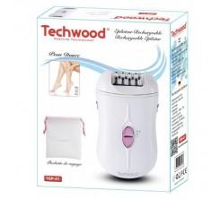 Epilateur Rechargeable blanc Techwood 3V