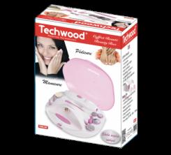 Set Manucure - Pédicure rechargeable Techwood.11 accessoire