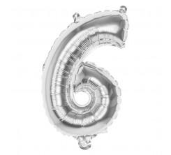Ballon Gonflable Forme Chiffre 6