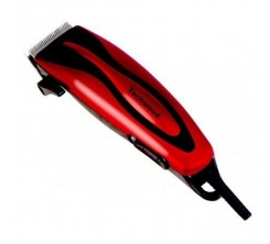 Tondeuse à Cheveux et barbe Filaire rouge Techwood