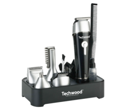 Kit Techwood Tondeuse+Tondeuse de finition +Taille moustache et barbe