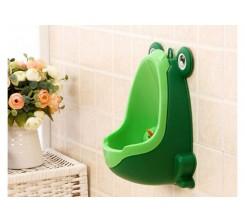 Urinoir pour Bébé en Plastique Vert