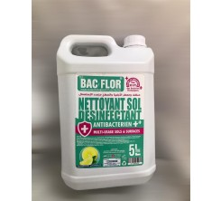 Nettoyant Sol Désinfectant Antibactérien Multi Usage 5L Citron