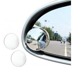 Rétroviseur Rond  Adhesif Miroir Angle