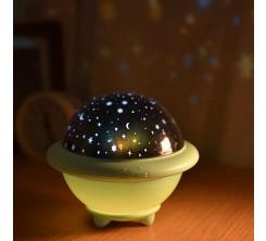 LED rotatif veilleuse projecteur UFO