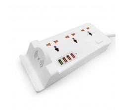 RALLONGE SMART SH 2500W 4 USB+ WIRELESS CHARGE